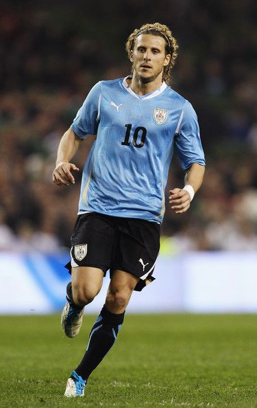 Diego Forlan in Republic of Ireland v Uruguay - International Friendly