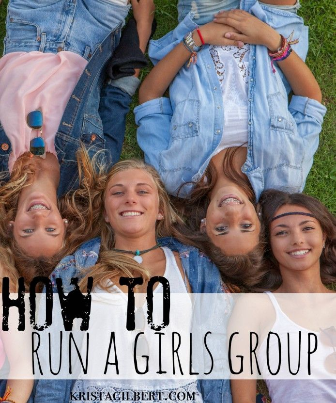 How to run a teen or tween girls group.  Everything you need to know.