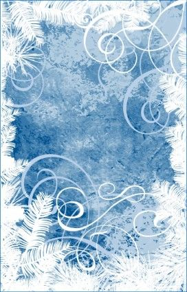 snowflake snowman vector