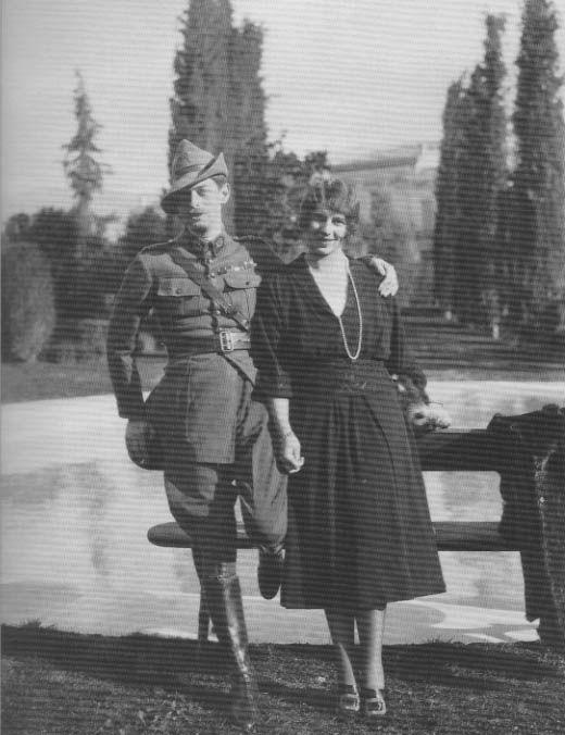 Crown Prince Carol (future Carol II of Romania) and his sister, Princess Ileana, 1920