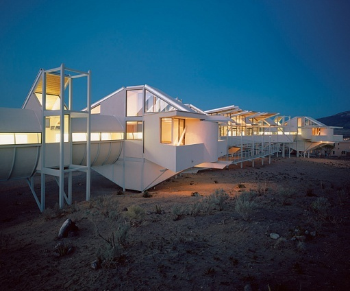 Reminiscent of hamster cages....but still creative: Architect Bart, Architectural Digest, Unusual Homes, Albuquerque, House Architecture, Photo, Prince Conceived, Amazing Architecture