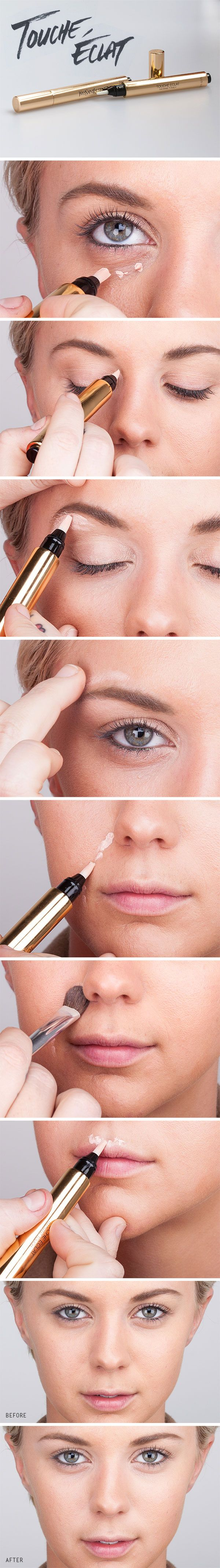 Concealer awesome beauty tricks