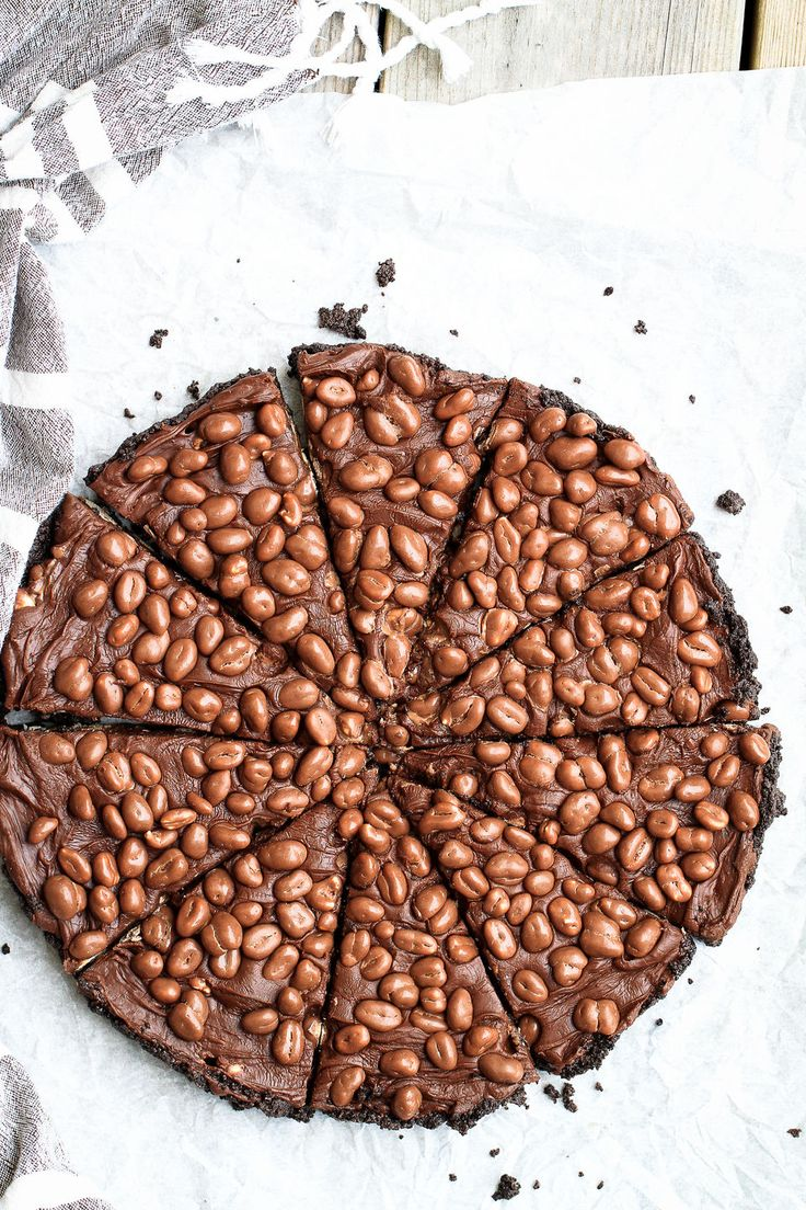 chokladfudgepaj med kola
