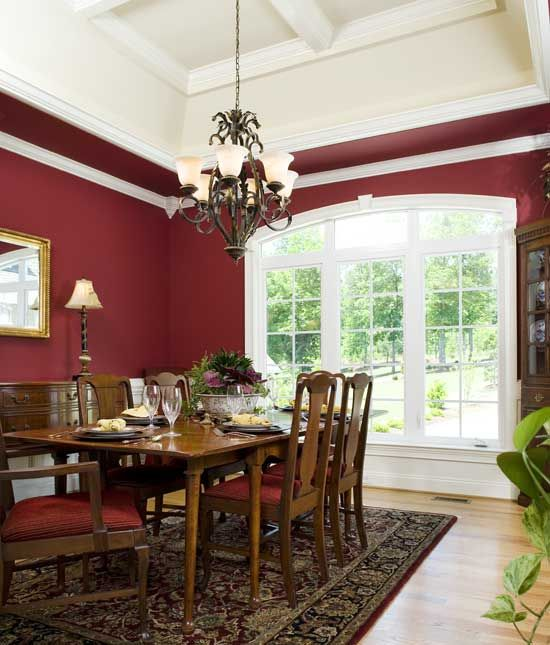 Dining Room from Plan 994 - The NewcastleDining Room, Houseplans