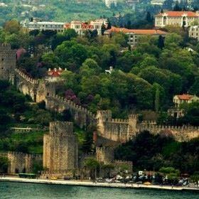 Istanbul view w/ Bogazici University