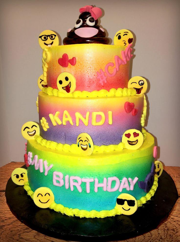 Emoji Birthday Cake Our Cakes Emoji Cake Birthday