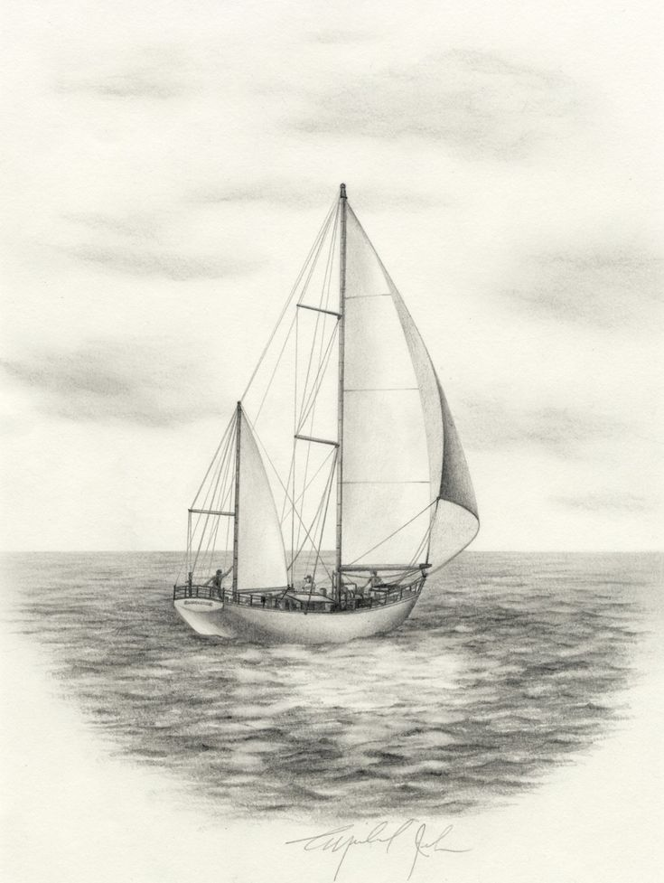 sailboat drawing - Google Search