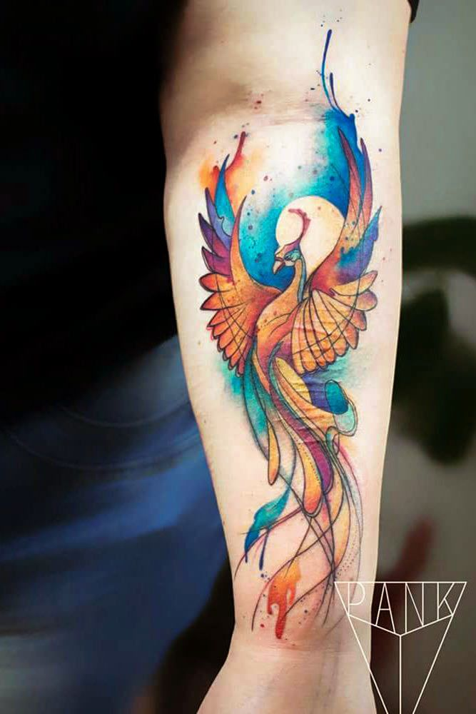 Phoenix Tattoofinder: 33 Amazing Phoenix Tattoo Ideas With Greater Meaning