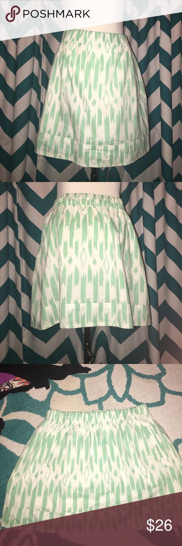 J. Crew Skirt with Pockets NWOT J Crew Skirt with pockets Size Medium. 100% Cotton. NWOT Super comfy! J. Crew Skirts