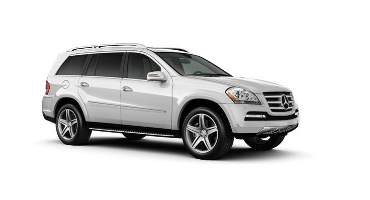 2012 Mercedes-Benz GL550. I'm imagining the sick feeling of getting that dinged at the Wal-Mart parking lot.