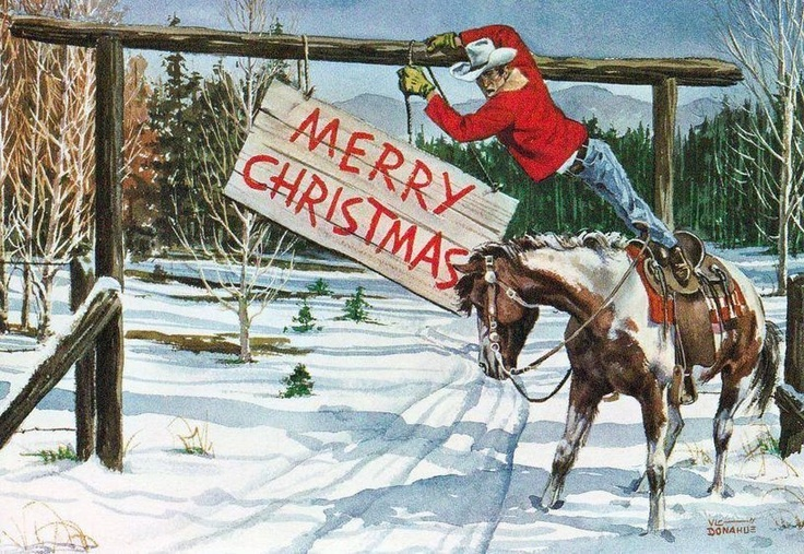 17 Best Ideas About Cowboy Christmas On Pinterest
