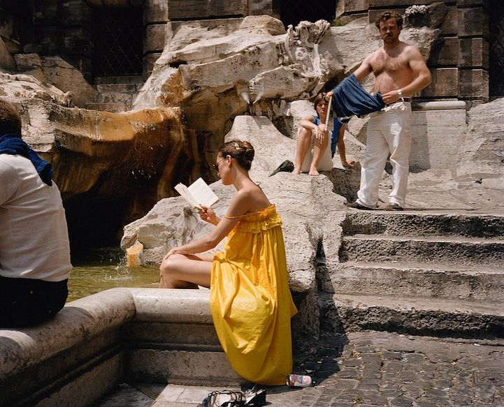 Beautifully Candid Moments in Italy Throughout the 1980's