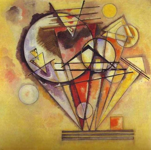 "Wassily Kandinsky - ""On the points"", 1928"