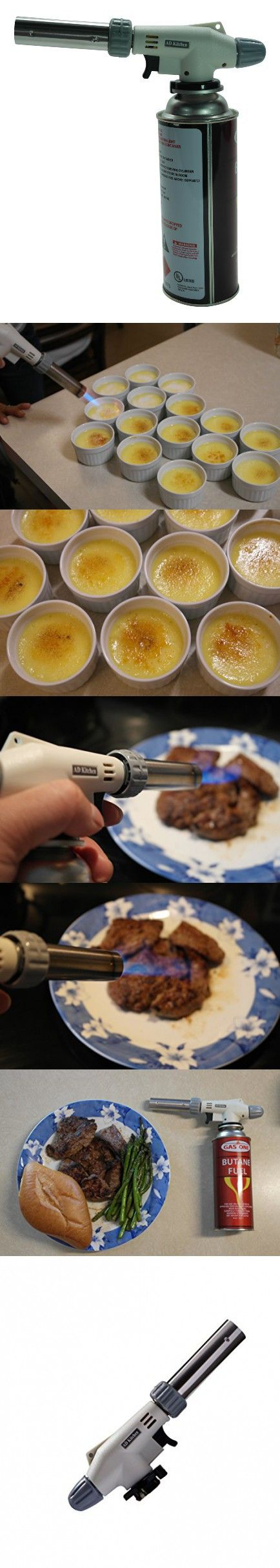 AD Kitchenware Cooking Torch Burner, Multiple Function Flame Gun AD-8805