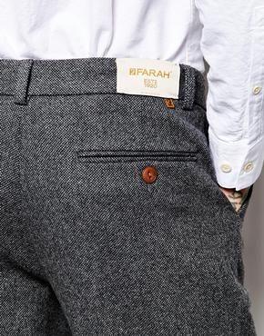 Enlarge Farah Trousers in Birdseye Fabric