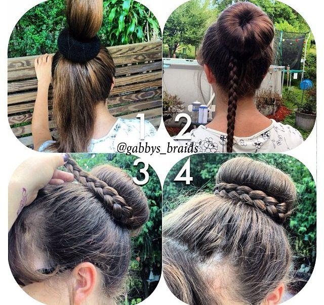 Phenomenal 1000 Ideas About Donut Bun On Pinterest Buns Hair Buns And Short Hairstyles For Black Women Fulllsitofus