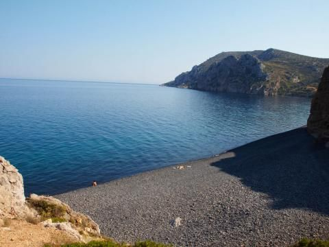 Mavra Volia Beach, Chios Greece - this is the island where my dad is from