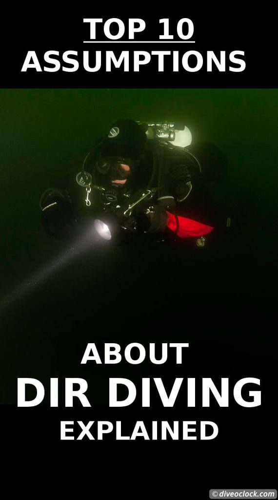 Top 10 Assumptions about DIR diving explained! Have you ever heard of DIR diving? The abbreviation DIR stands for Do It Right and I thought it was all about being a true rebel when it comes to safety standards. So what is DIR diving exactly? Is it technical diving? Is it a mindset? Time to ask some DIR diving professionals! http://www.diveoclock.com/blog/DIR/ underwater | diving |  dive the world | scuba diver | dive instructor | technical diving | duiken | tauchen | rebreather | cave…