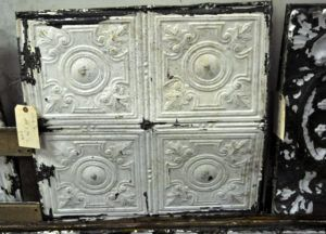 Antique Ceiling Tile Frames