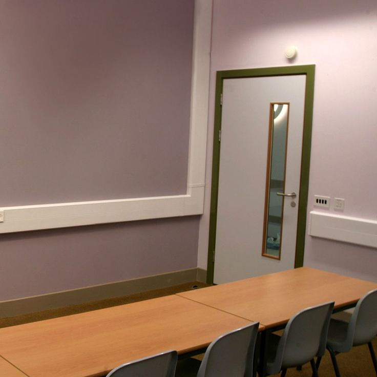 Classroom Colour Scheme St Lukes Science Sports College Devon England School Interior Design