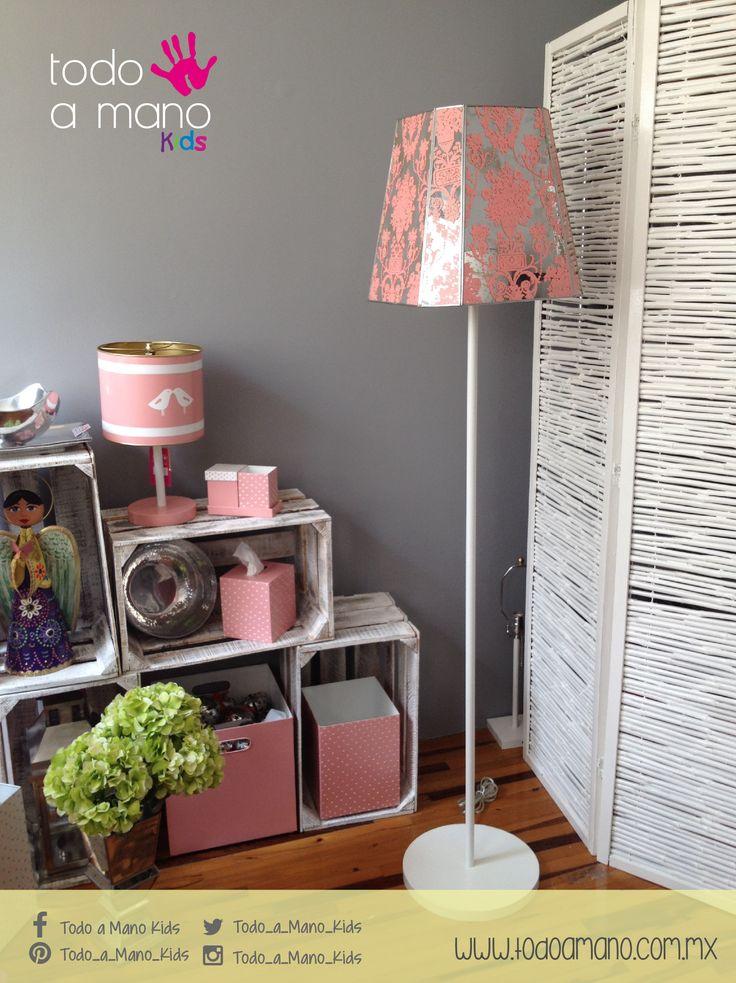 Personaliza su habitación con los mismos colores. #kids #princess #decoration #room #hechoenmexico