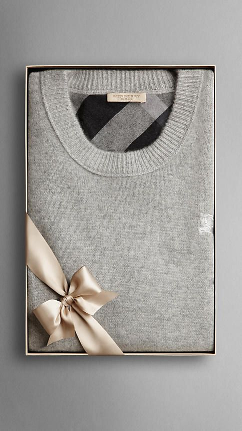 Burberry Classic Cashmere Sweater --Perfect for any gift! #Gifts #Burberry #Sweater