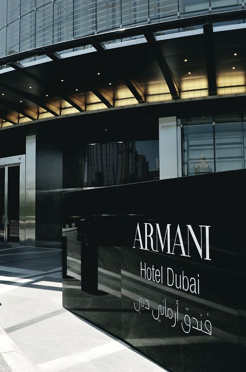 Armani Hotel Dubai   Source  