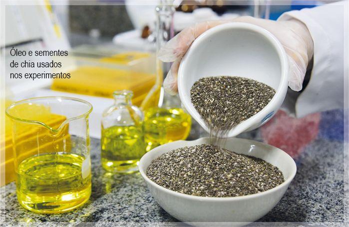 Tese atesta poder antioxidante do óleo e da semente de chia | UNICAMP - Universidade Estadual de Campinas