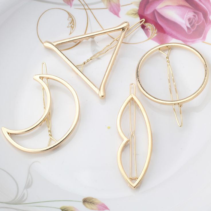 Minimalist Hair Pins     Tag a friend who would love this!     FREE Shipping Worldwide     Get it here ---> https://www.accessory.sg/m-mism-new-woman-hair-accessories-moon-circle-simply-triangle-alloy-hair-pin-clip-headdress-girls-fashion-hairgrips-barrettes/    #apparel