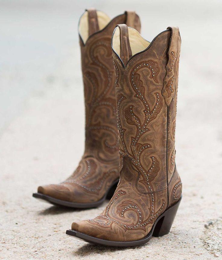 Corral Womens Super Sexy Studded Cowboy Boot G1240  Western boots  Zapatos Vaqueros y Botas