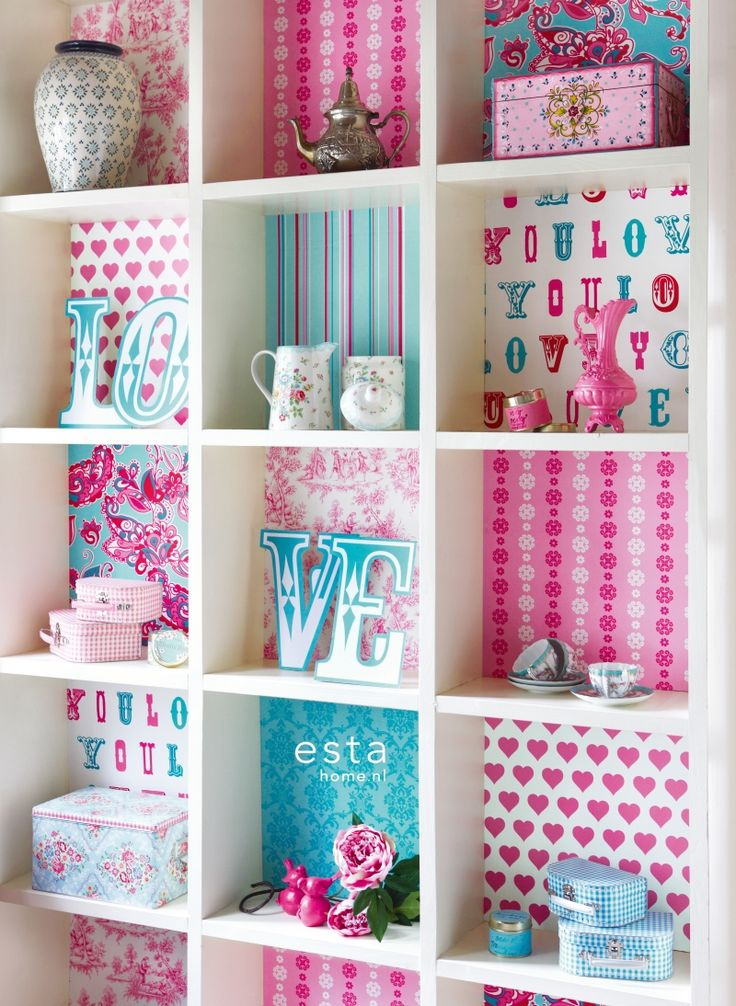 Great way to lift a white bookcase
