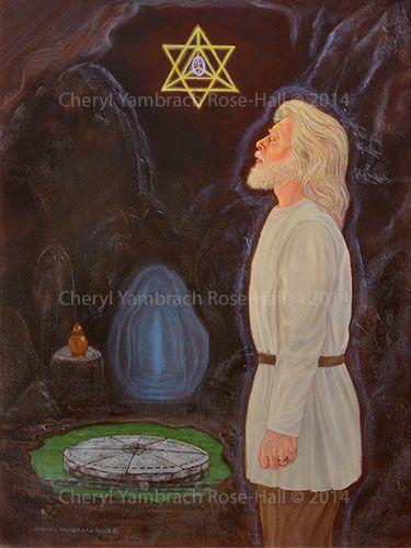 Zalmoxis in Ialomita Cave (2014) - Cheryl Yambrach Rose