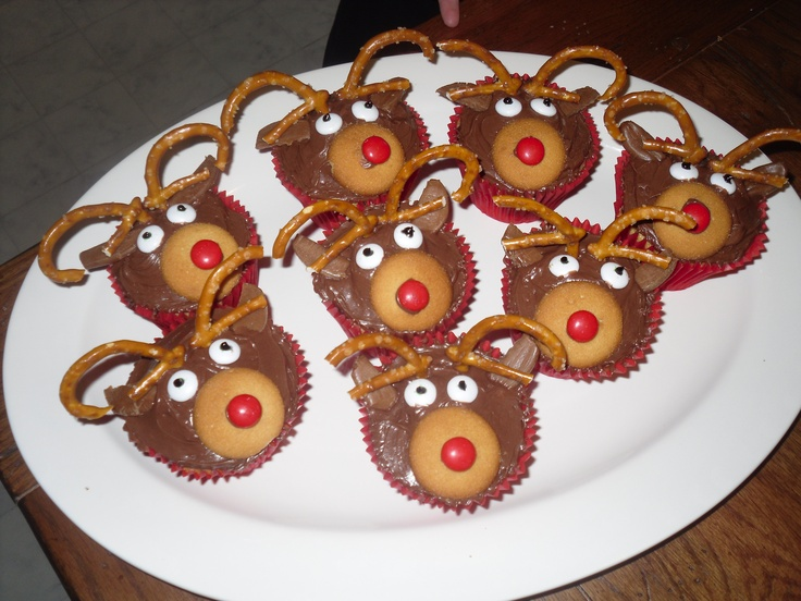 We made these last year for the Kindergarten Christmas party! So cute!
