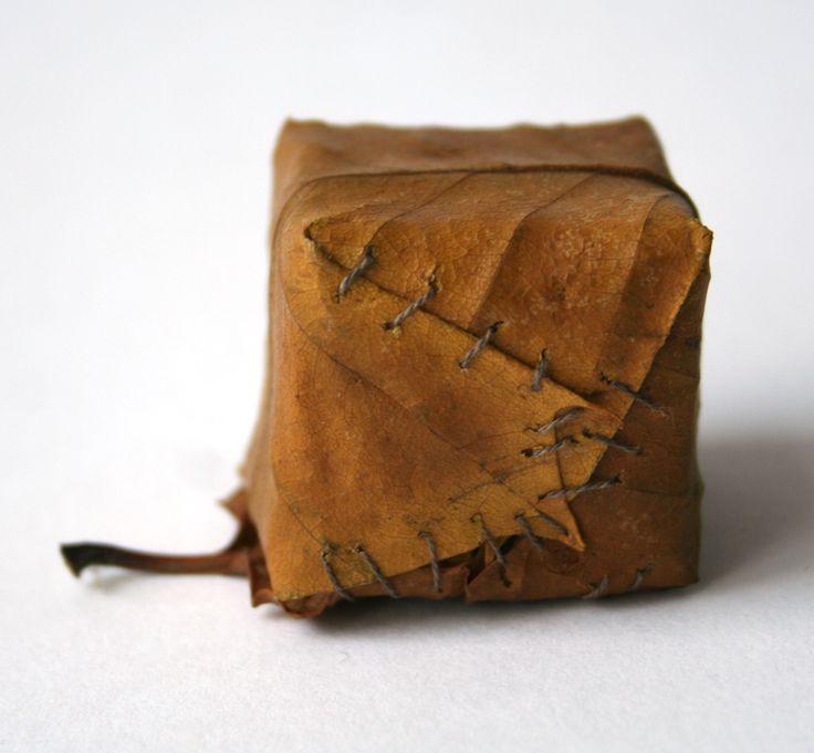 Amazing leaf cube by Alice Fox.