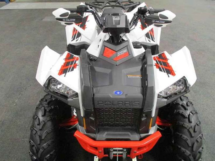 Used 2015 Polaris Scrambler XP 1000 White Lightning ATVs For Sale in Michigan. 2015 Polaris Scrambler XP 1000 White Lightning, NICE 2015 POLARIS SCRAMBLER XP 1000 EPS 4X4 WITH ONLY 411 MILES AND WINCH AND PLOW SYSTEM INCLUDED! Features include: Polaris HD 3500 lb winch w/synthetic rope and roller fairlead, Polaris removable plow system w/60 blade, 952 cc liquid cooled 4-stroke engine w/EFI, electronic power steering, automatic PVT transmission with park/reverse/neutral/low/high range…