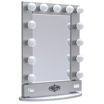 vanity girl hollywood broadway lighted vanity mirror. Black Bedroom Furniture Sets. Home Design Ideas