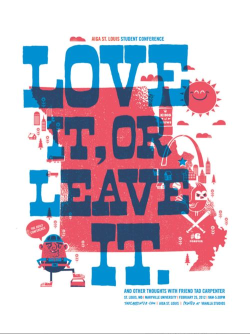 Love it, or leave it.