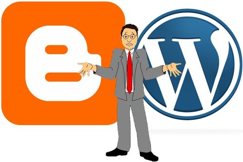 The constant competition between different blog-able websites. It seems to come down the personal preference. Me? I prefer blogger, simply for the ability to alter more CSS, however Wordpress has ease of use and is more user friendly for beginners.