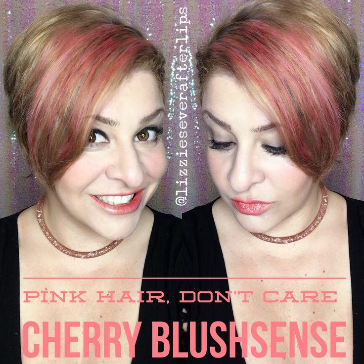 Cherry Blushsense hair!! Coral-Lina LipSense, Glossy  Gloss, matte Gloss Color Correcting Tinted Moisturizer, Makesense Ivory, Pearlizer Makesense, Toasted Rose Blushsense, Chocolate Cherry Blushsense, candlelight Shadowsense, Brows done with Onyx Shadowsense and Moca Java Shadowsense, Senegence #thoselipsthough #lipsbepoppin #magiclippy #boldlippy #lipsense  @lizzieseverafterlips join my team