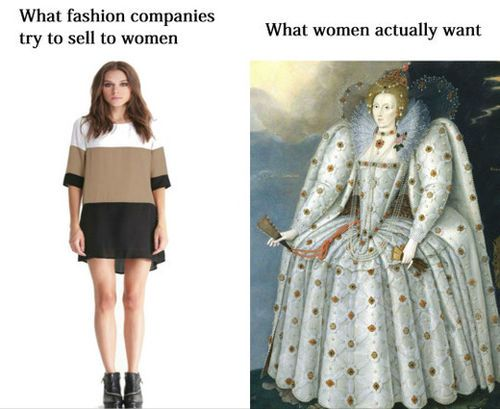 Elizabethan isn't quite my style but yes they get the concept