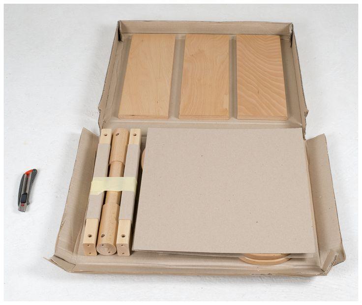 Package; Versatile children furniture for ages 1-8. Copyrightr: Dejan Jordanov, 2014