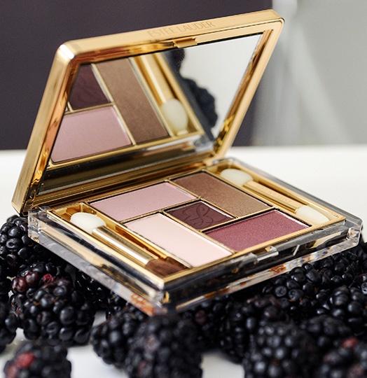 Five Color EyeShadow Palette in Enchanted Berries