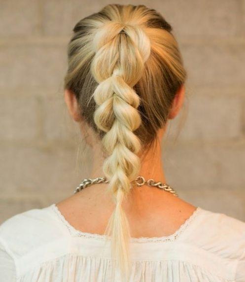 fancy braids ideas