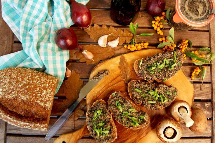 Russian Mushroom Caviar: Delicious, easy and healthy vegan appetizer ...