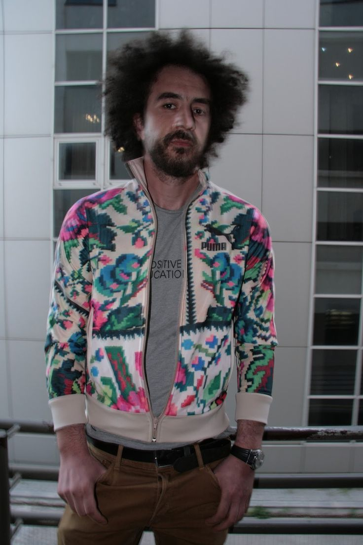Vlad Craioveanu Puma Etno Star Jacket by Lana Dumitru #lana #dumitru #lanadumitru #digitalprint
