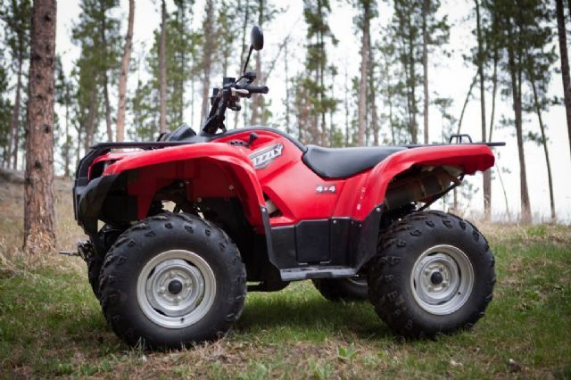 2008 yamaha grizzly 700 fi auto 4x4 4 wheeler red 3 700 miles for sale in hill city sd atv. Black Bedroom Furniture Sets. Home Design Ideas