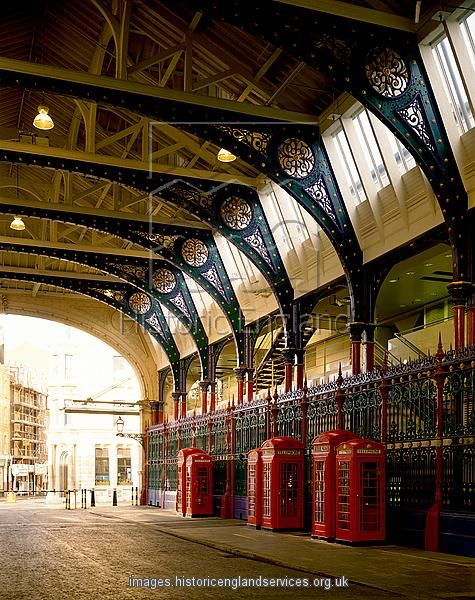 Smithfield Market. Yummy just to look at.