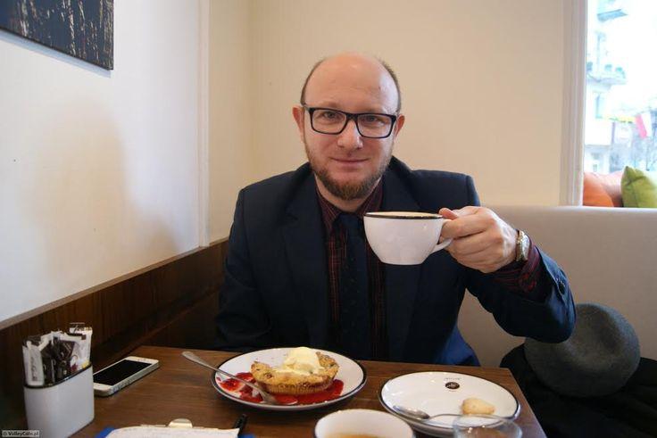 Nikodem Pałasz during #coffeeinterview #coffee #interview #coffeetime #volleyball