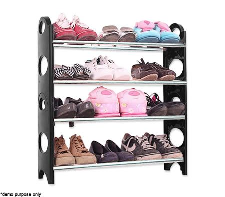 This will help your shoes to be organized.