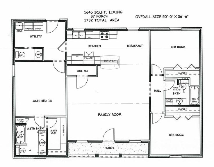 Wonderful Design Of Square House Plans : Large Square House Plans Spacious  Living Space Two Bedrooms. Perfect Retirement Home, Just Needs Stairs To  The ... Part 47